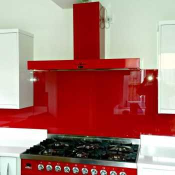 Red Splashback