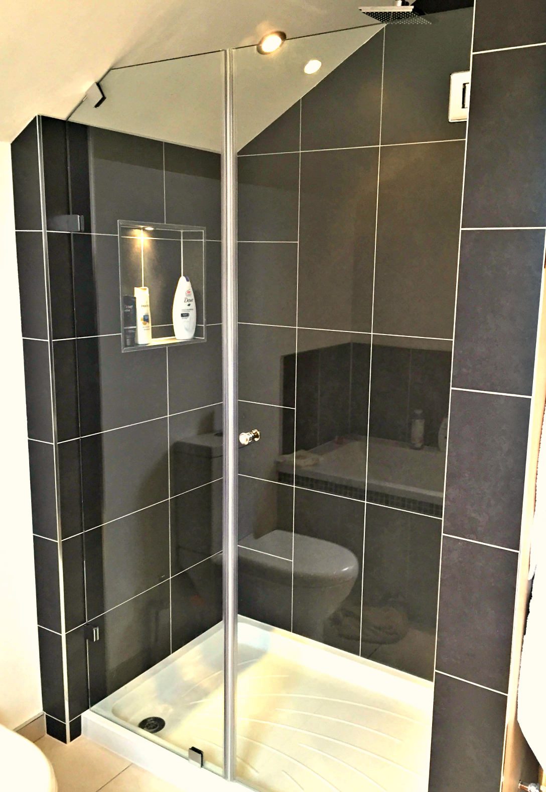 shower screens doors nottingham lee glass and glazing for bathrooms of a more